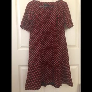 Lennie for Nina Leonard Polkadot Dress Size Small